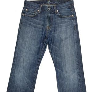 7 For All Mankind Women's Jeans S 30 W31XL32 Blue